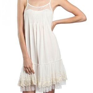 BNWT RYU Ivory Slip Dress Extender Layering